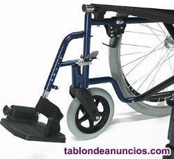 Silla de ruedas plagable
