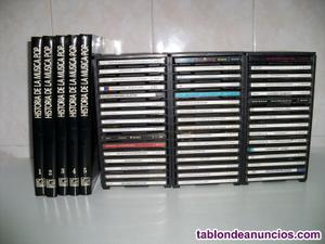 Enciclopedia de la música salvat con cds