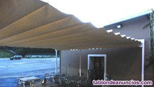 Se vende toldo terraza palillero