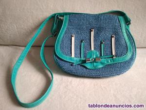 1 bolso de mujer azul