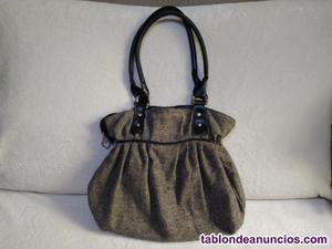 2 bolso de mujer flor negra