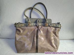 6 bolso de mujer plateado