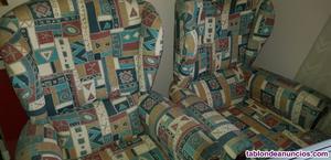 Se vende 2 sofas individuales