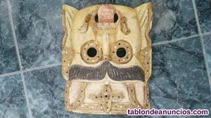 Vendo dos mascaras de madera