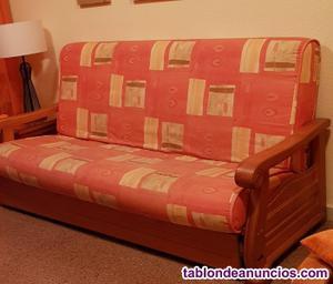 Vendo sofá cama tres plazas en perfecto estado