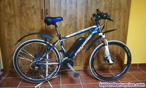 Bicicleta de montaña con kit electrico