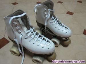 Se venden patines 4 ruedas talla