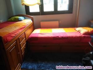 Dos camas juveniles
