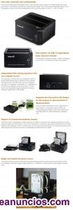2 discos duros y docking backups