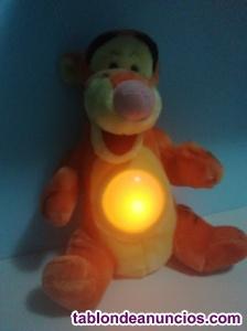 Tigger de winnie the pooh con luz peluche