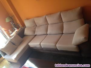 Sofa de tela chaiselongue en venta