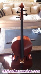 Vendo violonchelo con arco y funda