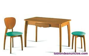 Mesa cocina cancio y 2 sillas