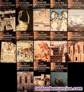 34 documentales de ''viaje a las grandes civilizaciones del