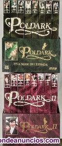 """Colección completa de la serie """"poldark"""" en vhs ()"""