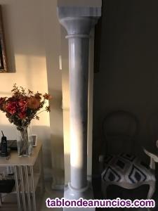 Vendo dos columnas de marmol