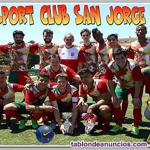 Sport club san jorge buscamos jugadores futbol 11 temporada