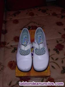 Vestido de comunion y zapatos