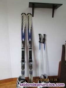 Equipo de esqui rossignol