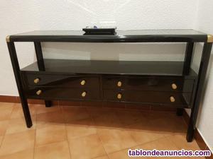 Mueble para recibidor más espejo