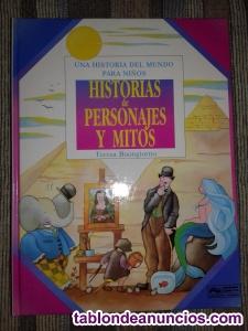 Una historia del mundo para niños-historias de personajes y