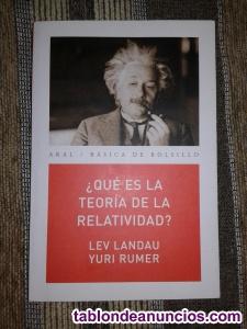 ¿qué es la teoría de la relatividad?