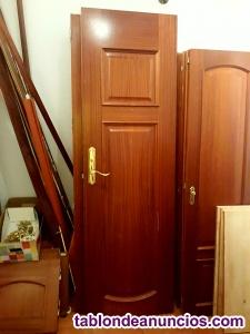 Puertas de interior de madera