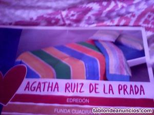 Vendo juego de cama de 5 piezas