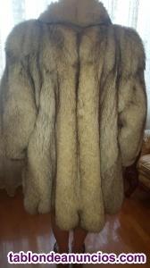 Vendo abrigo de zorro bleu
