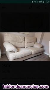 Sofa 3 plazas nuevo