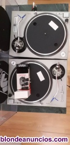 Vendo pareja en muy buen estado: technics sl-mk2