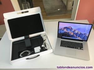 Apple macbook pro 17 feb  ordenador ¡ideal para