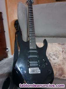 Guitarra electrica washburn wr120 y ampli