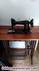 Maquina de coser antigua sigma.
