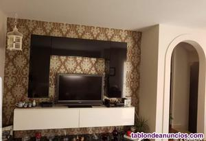 Mueble salon modular lacado