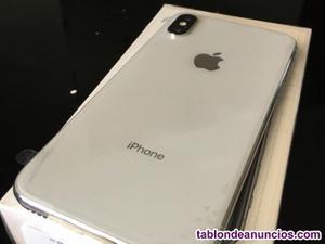 Vendo iphone x 256 gb con factura libre blanco