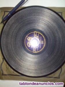 Discos de pizarra para gramofono 78rpm
