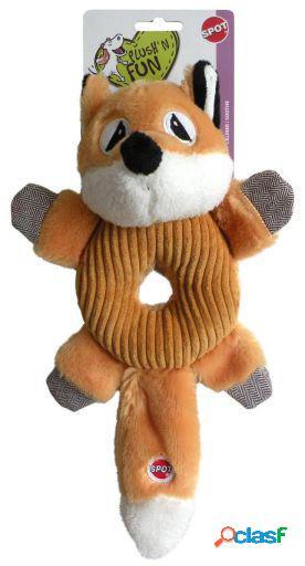 Agrobiothers Dog Toy Fox Donut Crinkler Spot 75 GR