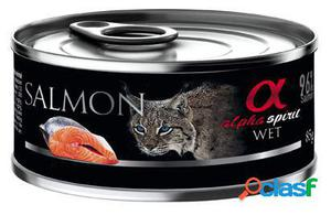 Alpha Spirit Comida Húmeda para Gatos de Salmón 85 GR