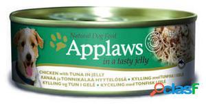 Applaws Gelatina de Pollo con Atun para Perros 156 GR