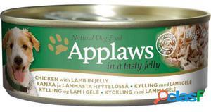 Applaws Gelatina de Pollo y Cordero para Perros 156 GR