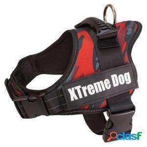 Arquivet Arnés para Perros Xtreme Dog Camuflaje Rojo S