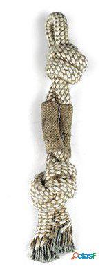 Axis-Biozoo Mordedor Cuerda Con Nudos para Perros 300 GR