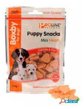 Axis-Biozoo Snack Boxby Puppy Mini Corazones 100 GR
