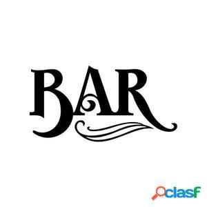 Bar en funcionamiento