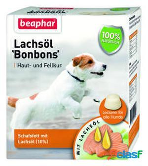Beaphar Bonbons Snack de Aceite de Salmon para Perros 245 gr