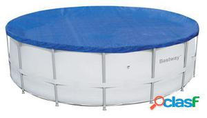 Bestway Cobertor piscina estructura metálica 457cm