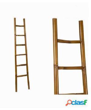 Bigbuy Escalera De Bambú - Colección Franklin
