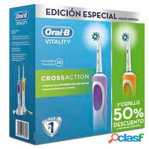 Braun Cepillo Dental Duo Vitality Cross Action