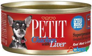 Brit Petit Canned Pollo Y Hígado para perros 80 GR